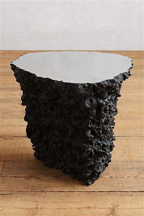 lava stone table top black lava stone side table