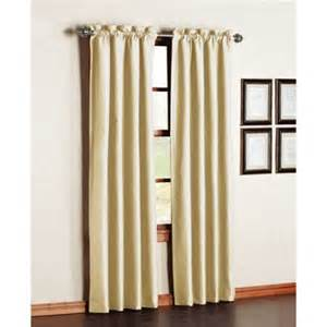 Thermal Back Curtains Premiere Thermal Backed Energy Efficient Curtain Panels Set Of 2 Walmart