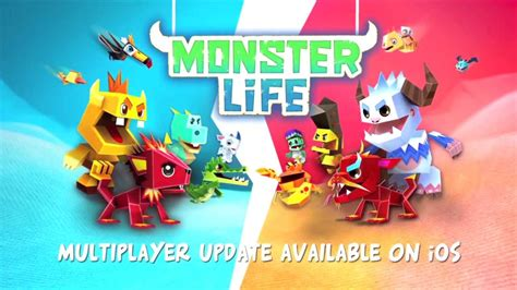 monster life multiplayer trailer iphone ipad youtube