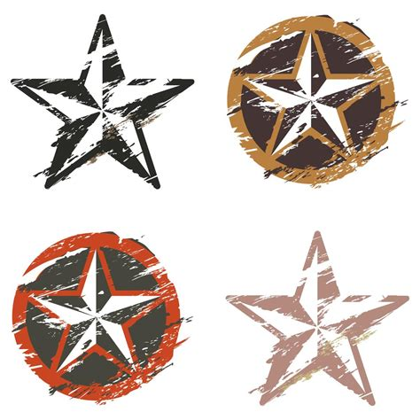 nautical star tattoos on the arm