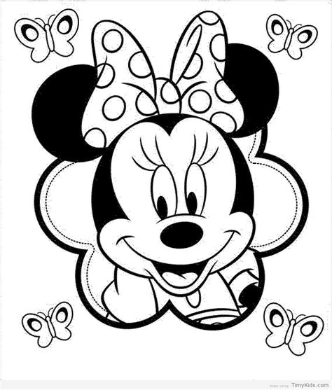 minnie mouse coloring pages wallpapers minnie mouse face coloring pages timykids