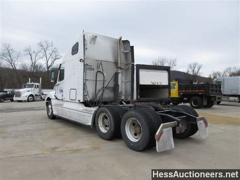 Freightliner Sleeper For Sale by Used 2007 Freightliner Columbia Tandem Axle Sleeper For Sale In Pa 23129