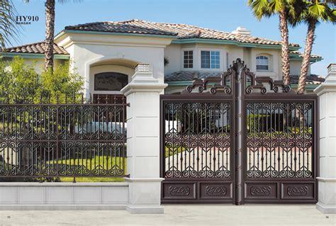 hy  unique exterior house gate designs buy gate