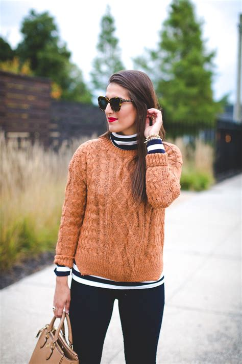 knit outfit fall layers a southern drawl fall for work