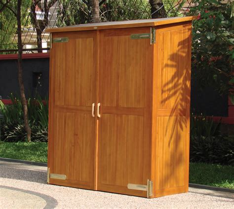 outdoor wood cabinetry