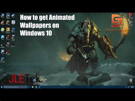windows 10 animated wallpaper tutorial windows 10 dreamscene tutorial doovi