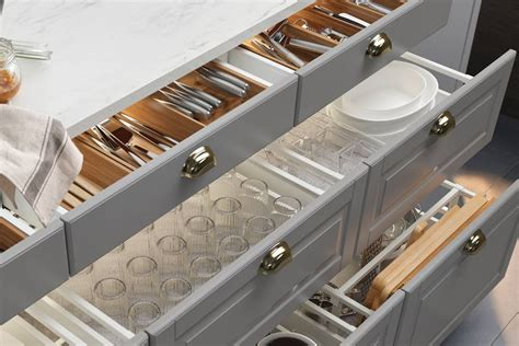 Kitchen Drawers For Dishes Why You Should Choose Drawers Cabinets In Your