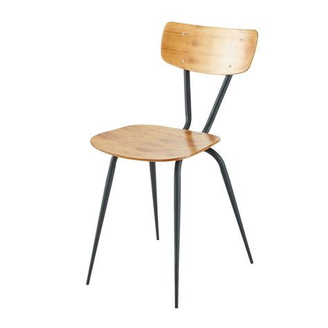 chaise industrielle maison du monde 2 chaises vintage ferry maisons du monde