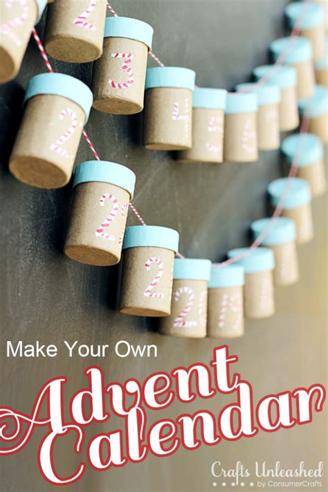How To Make A Paper Advent Calendar - advent calendar make your own and use year after year