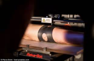 tattoo printer on skin the 3d printer that can give you a tattoo daily mail online