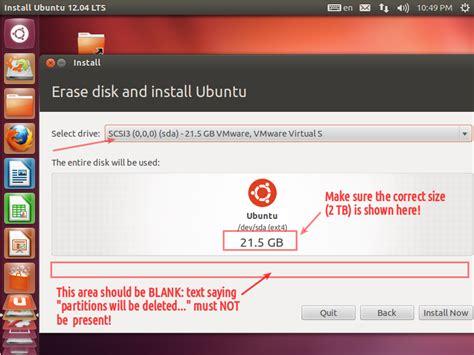 ubuntu live cd format hard drive dual boot how do i install ubuntu and windows on