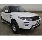 Tata Safari  Cobverted To Range Rover Evoque Indian