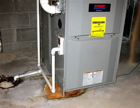 central air conditioner leaking water basement furnace leaking water find out why jim lavallee plumbing