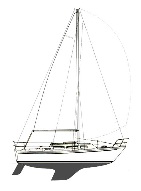 sailboat lines catalina 27 boat information sailing fortuitous