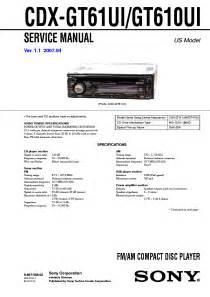 sony cdx gt wiring diagram sony xplod 50wx4 wiring diagram wiring diagrams