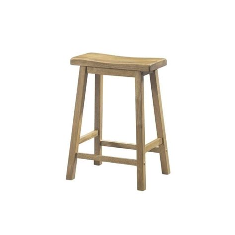 saddle seat stool 24 monarch 24 quot saddle seat bar stool in set of 2
