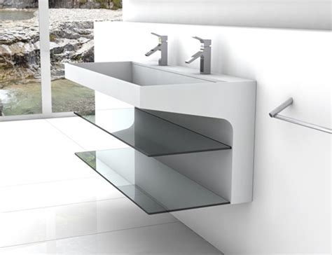 What Is Corian Made Out Of avi corian bathroom by plavisdesign