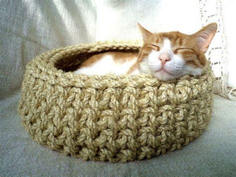 free crochet pattern cat cave cat basket crochet cat bed cat cave cat house cat by