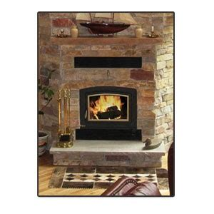 Zero Clearance Fireplace Inserts by Energy King Silhouette 2800 Zero Clearance Fireplace Insert