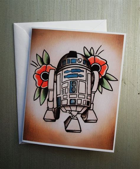 tattoo flash cards star wars themed tattoo flash note cards set of 8