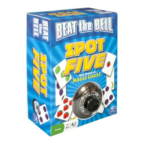 Bell Beat beat the bell five spot spin master