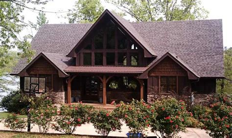 rustic mountain home house plan house design and