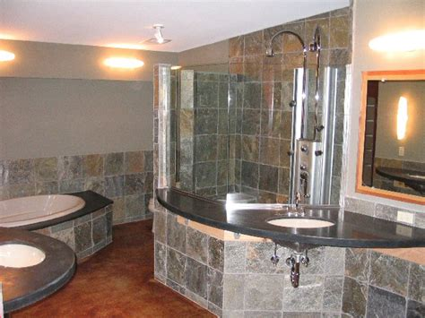Slate Tile Bathroom Designs by Bathroom Ideas Slate Tile Bathroom