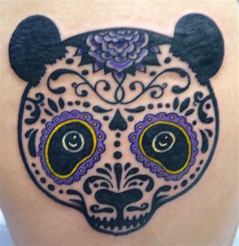 sugar skull panda panda sugar skull tattoos