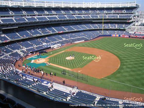 section 316 yankee stadium yankee stadium terrace level 313 seat views seatgeek