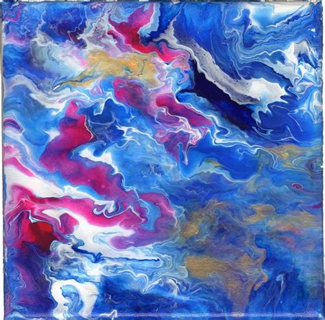 pouring acrylic paint on canvas pourings abstract fluid acrylic pouring untitled