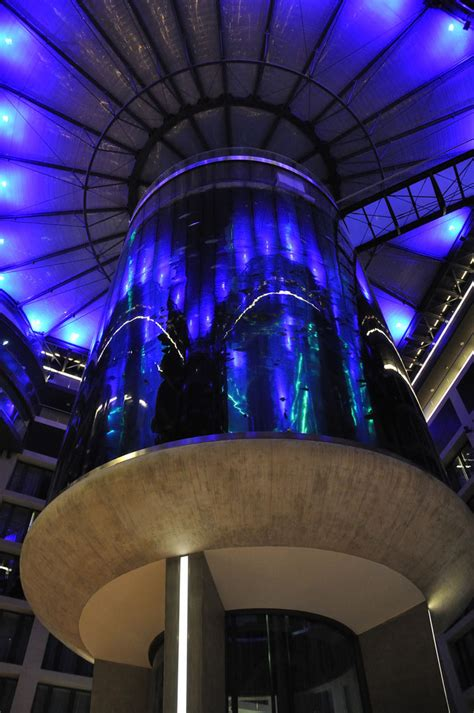 aquadom  radisson blu hotel berlin mitte idesignarch