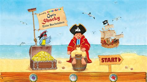 capt n sharky le capt n sharky letters it appstore per android