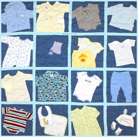 Turn Baby Clothes Into Quilt by Pin By Jacque Zweygardt On Baby Clothes Quilts