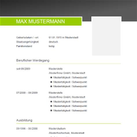 Libreoffice Design Vorlagen Lebenslauf Muster Vorlagen F 252 R Die Bewerbung 2017