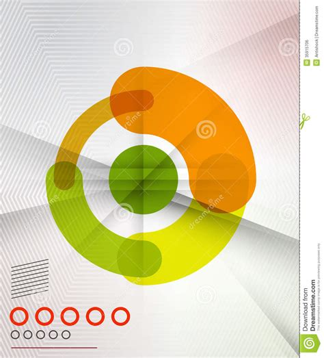 colorful modern circles powerpoint templates colorful corporate circles design templates royalty free stock image image 35915706