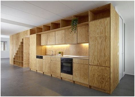 paint plywood kitchen cabinets