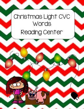 light cvc light cvc words reading center by family and