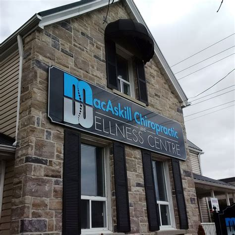 domino pizza whitby macaskill chiropractic whitby building signage portfolio