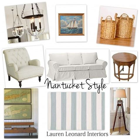 nantucket home decor nantucket style the cottage mix the cottage style and on