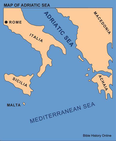 adriatic sea map opinions on adriatic sea