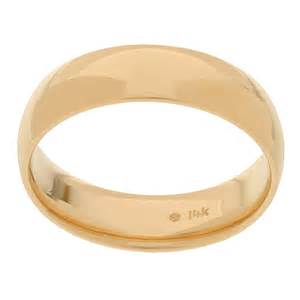 14k yellow gold s 6 mm comfort fit wedding band