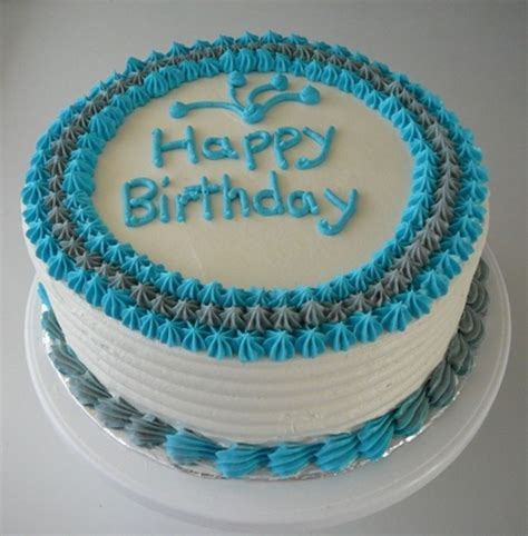 simple male birthday cake  cake central birthday blue birthday cakes birthday cake