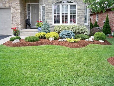 beautiful simple front yard landscaping design ideas 14