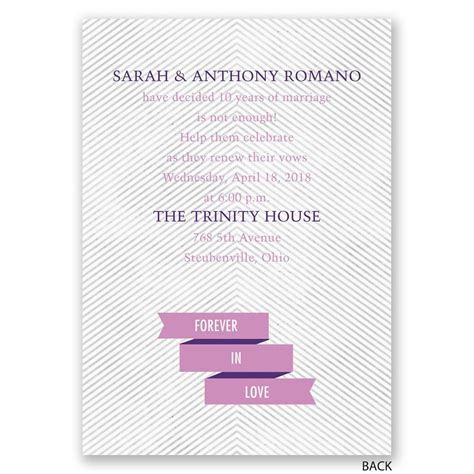 banner and stripes vow renewal invitation invitations by - Wedding Vow Renewal Banner