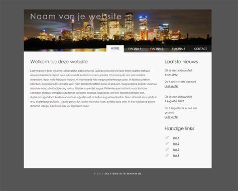 website gratis gratis website templates je eigen website