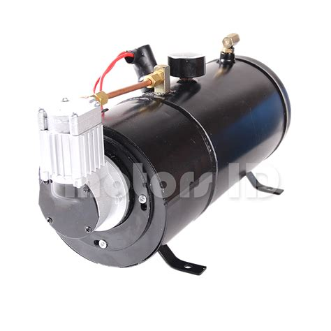 150psi dc 12v air horn air compressor tank for truck w 3l tank