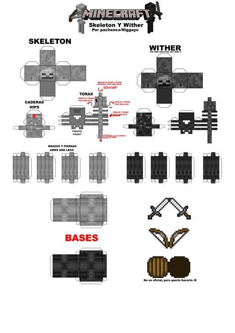 Minecraft Paper Steve Template
