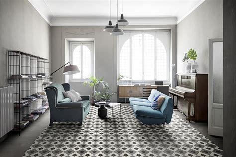 modern home interior decorating 2018 collezione d segni cementine handmade in gres marazzi
