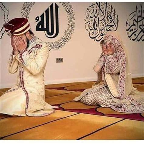 Wedding Blessing Muslim by Muslim Just Before Wedding Praying