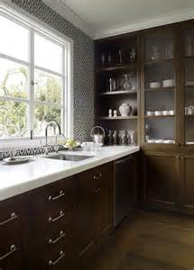 white and brown kitchen cabinets chocolate brown kitchen cabinets design ideas